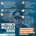 Wali Kota Bogor Keluarkan Surat Edaran Pencegahan Covid-19, Ini Isinya